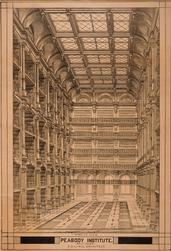 Interior view, Peabody Institute, Baltimore