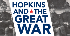 Hopkins and the Great War logo