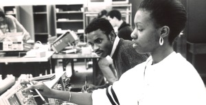 Engineering students, 1980s