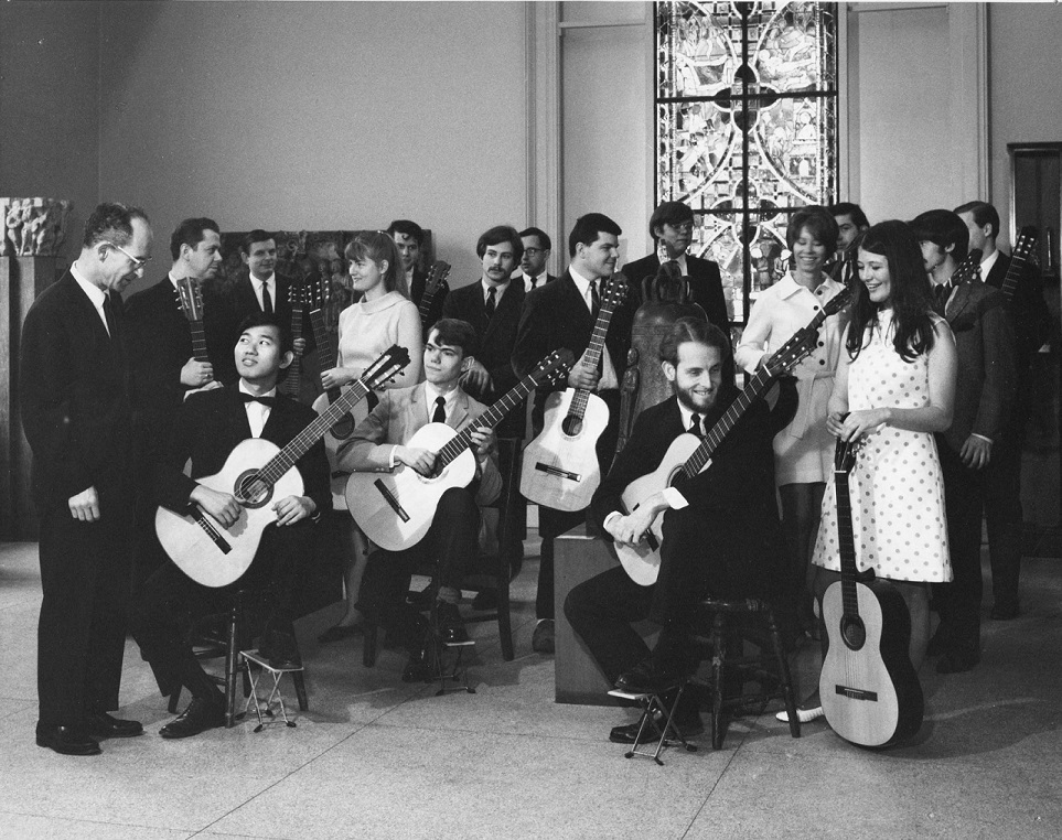Peabody Guitar Ensemble at the Walters Art Gallery