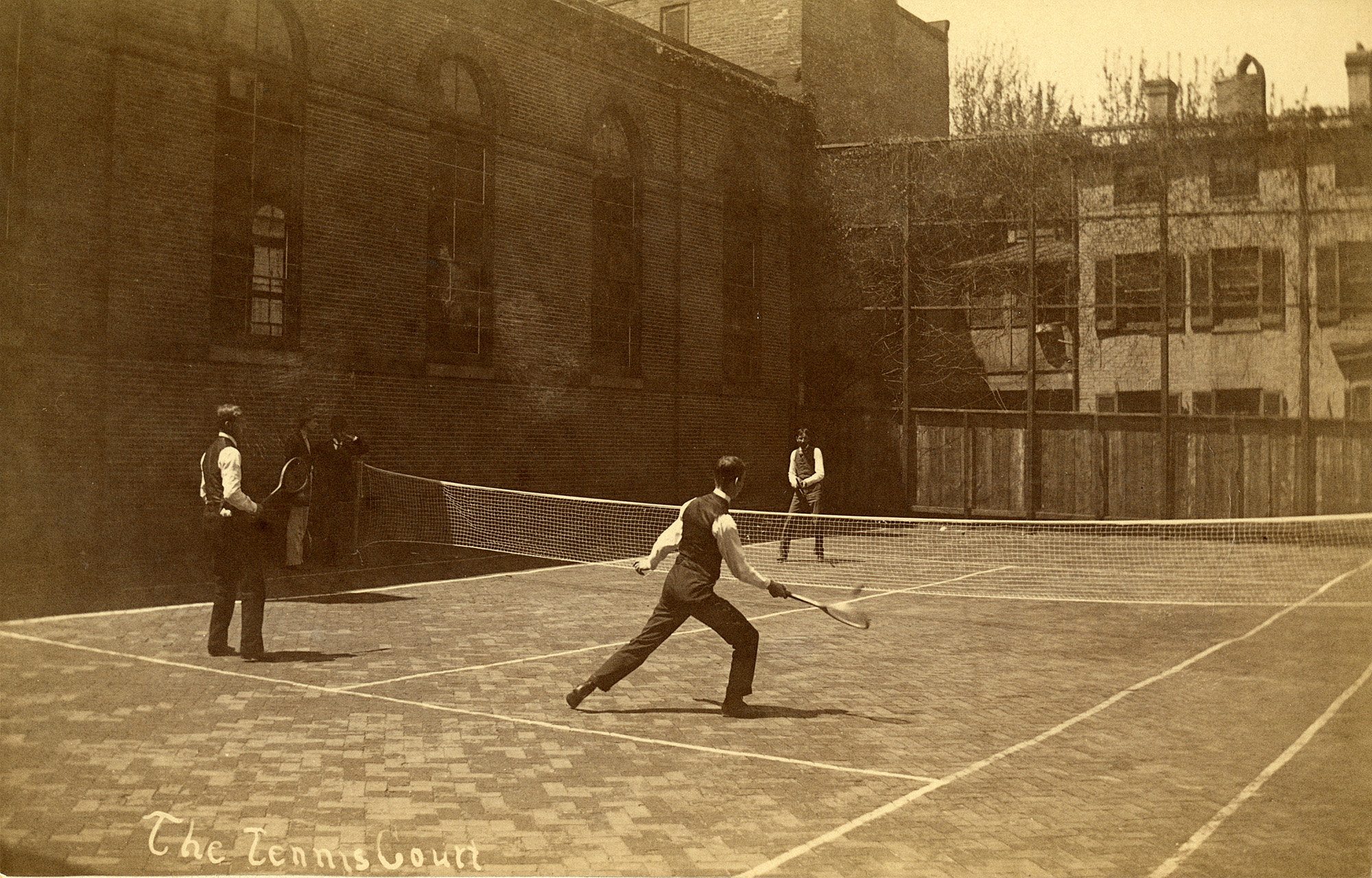 Gymnasia, Old Campus; Tennis