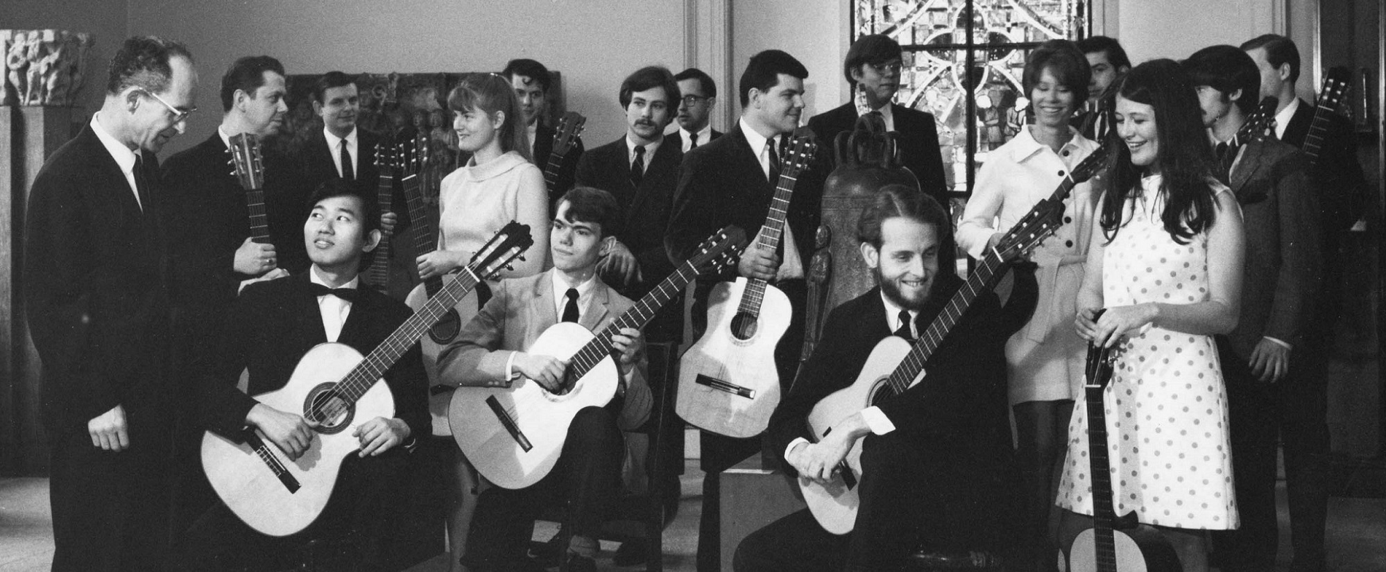Image of the Peabody Guitar Ensemble