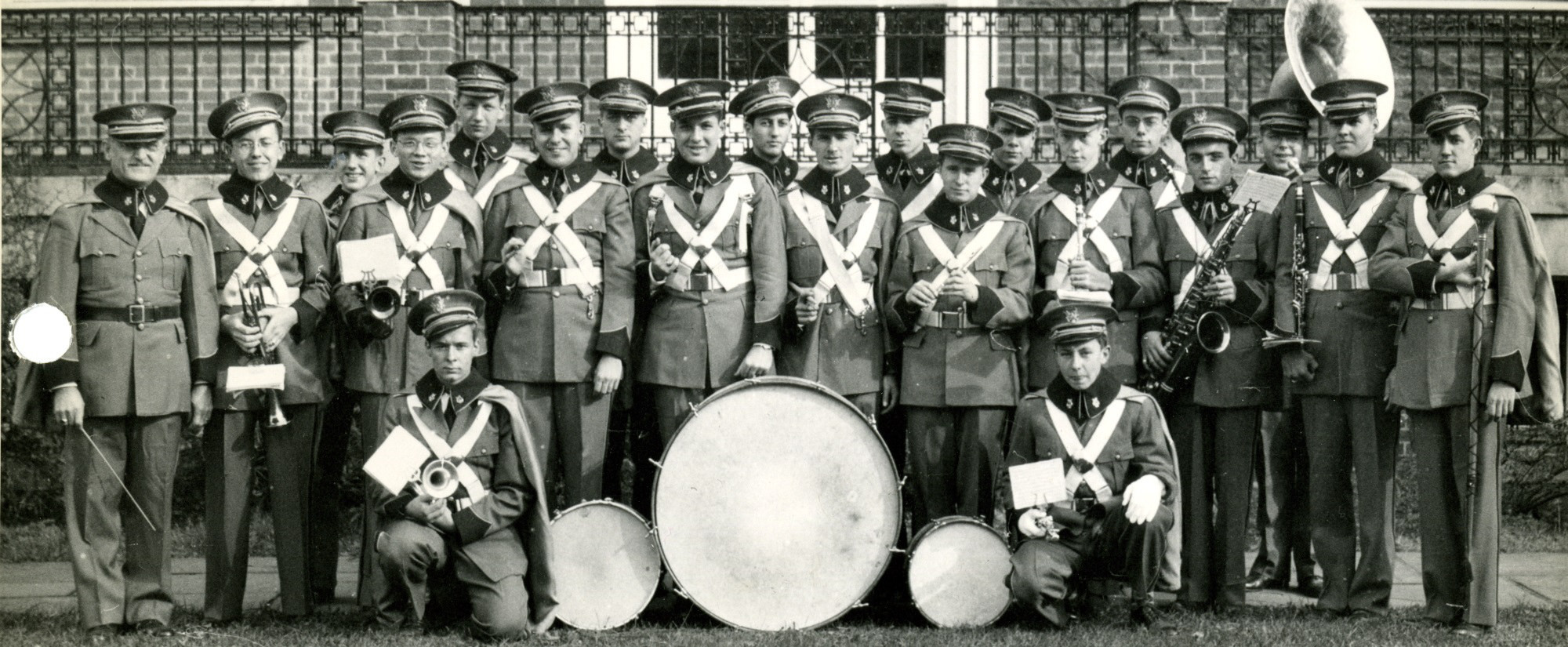 Group portrait of the JHU Band